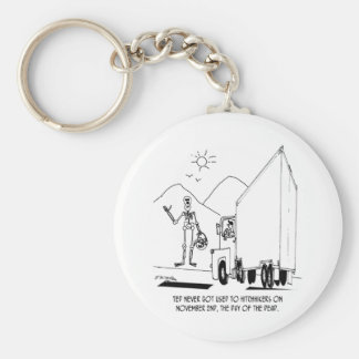 Day of the Dead Cartoon 7392 Key Chain