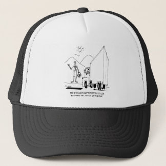 Day of the Dead Cartoon 7392 Trucker Hat