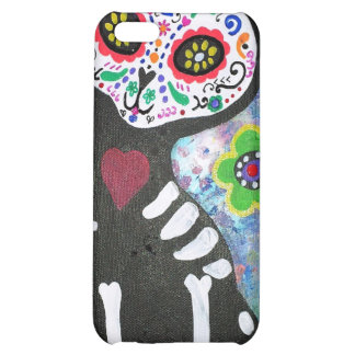 Day of the Dead Cat by Prisarts iPhone 5C Cover