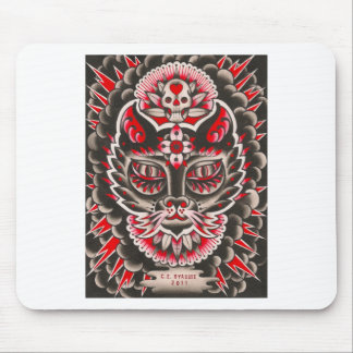 Day of the Dead Cat Mouse Pad