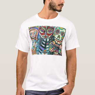 Day Of The Dead Cat Serenade T-Shirt