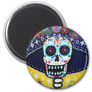 DAY OF THE DEAD CATRINA MAGNET