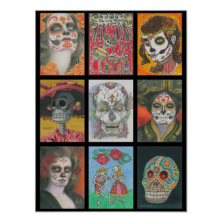 Day of the Dead Challenge Poster