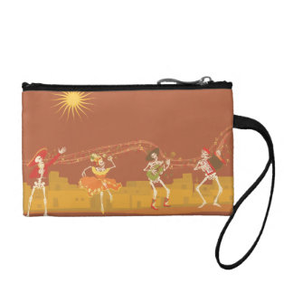 Day of the Dead Change Purse