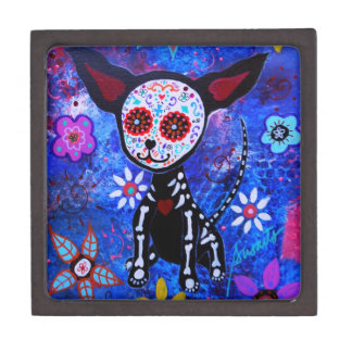 Day of the Dead Chihuahua Gift Box
