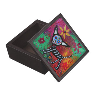 Day of the Dead Chihuahua Jewelry Box