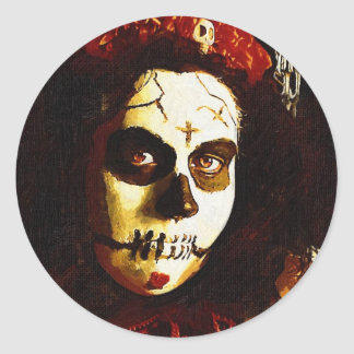 Day of the Dead Classic Round Sticker