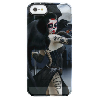 Day of the Dead Clear iPhone SE/5/5s Case