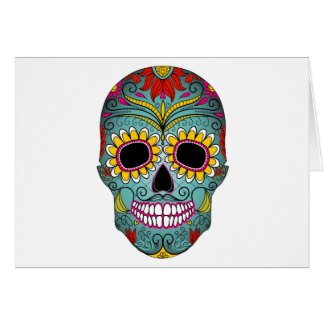 day-of-the-dead-colorful-skull-with-floral-ornamen card