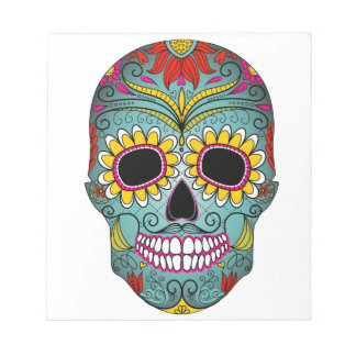 day-of-the-dead-colorful-skull-with-floral-ornamen notepad