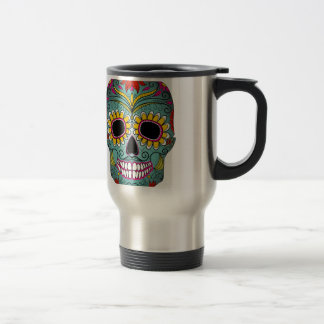 day-of-the-dead-colorful-skull-with-floral-ornamen travel mug