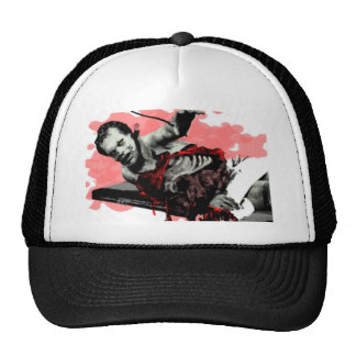 Day of The Dead Corpse Slab Trucker Hat