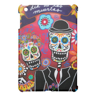 day of the dead couple cover for the iPad mini