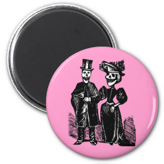 Day of the Dead Couple Magnet