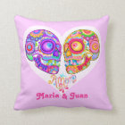 Day of the Dead Couple Pillow - Customize it!