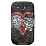 Day of the Dead Couple Samsung Galaxy S3 Case
