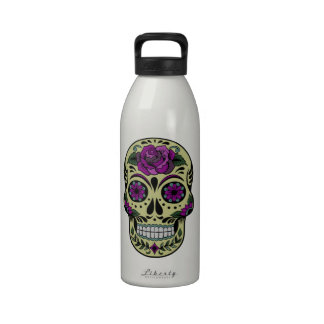 Day of the Dead Custom Reusable Water Bottles