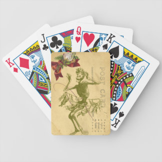 Day Of The Dead Dancer Cinco De Mayo Bicycle Playing Cards