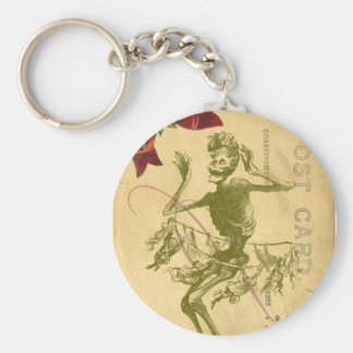 Day Of The Dead Dancer Cinco De Mayo Keychain