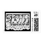 Day of the Dead - Dancing Skeleton Animals Postage