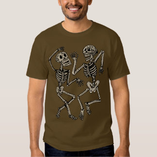 Day of the Dead Dancing Skeletons T-Shirt