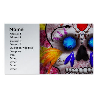 Day of the Dead - Death Mask Business Card