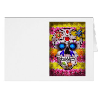 Day of the Dead - Death Mask Greeting Cards