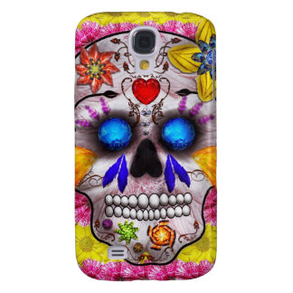 Day of the Dead - Death Mask Galaxy S4 Cover