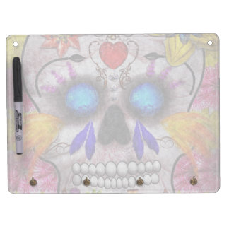 Day of the Dead - Death Mask Dry Erase Boards
