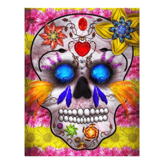 Day of the Dead - Death Mask Full Color Flyer