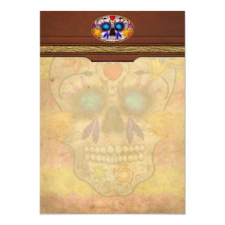 Day of the Dead - Death Mask Personalized Announcement