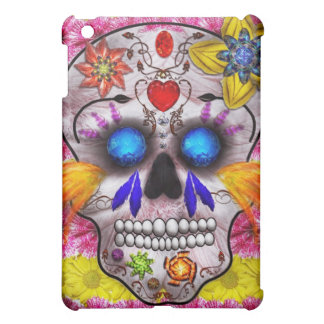 Day of the Dead - Death Mask iPad Mini Cases