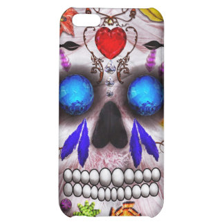 Day of the Dead - Death Mask iPhone 5C Cover