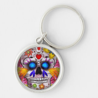 Day of the Dead - Death Mask Keychain