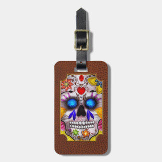 Day of the Dead - Death Mask Luggage Tags