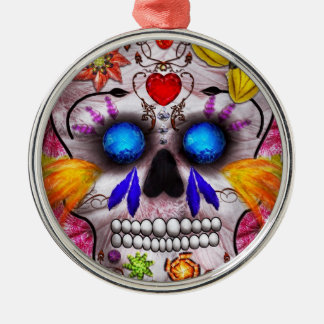 Day of the Dead - Death Mask Christmas Ornament