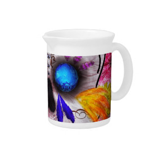 Day of the Dead - Death Mask Beverage Pitchers