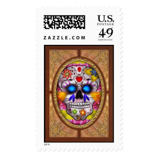 Day of the Dead - Death Mask Stamp