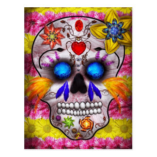 Day of the Dead - Death Mask Post Cards