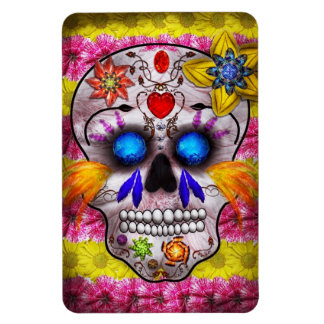 Day of the Dead - Death Mask Flexible Magnet