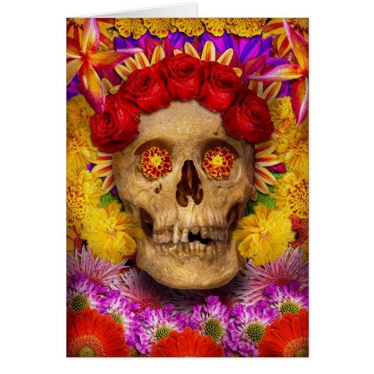 Day of the Dead - Dia de los Muertos Card
