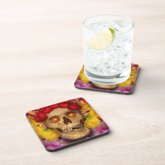 Day of the Dead - Dia de los Muertos Drink Coaster
