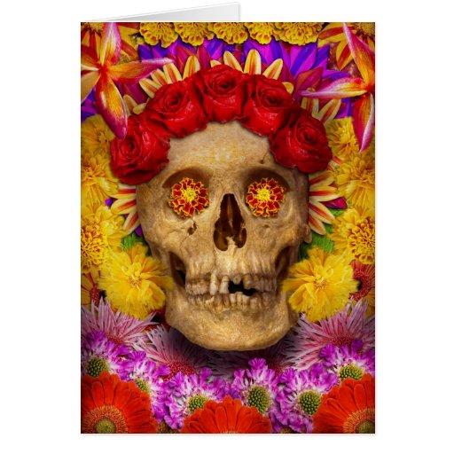 Day of the Dead - Dia de los Muertos Greeting Card