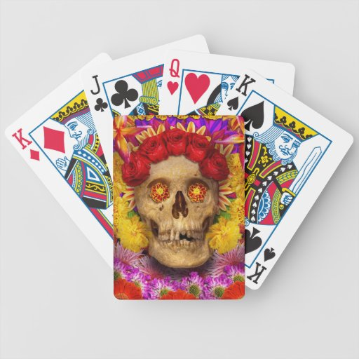 Day of the Dead - Dia de los Muertos Bicycle Playing Cards