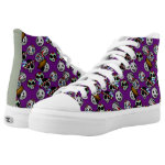 Day of the Dead Doodle EMOJI High-Top Sneakers
