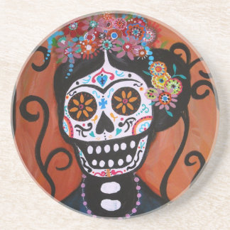 DAY OF THE DEAD DRINK COASTER