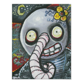 Day Of The Dead Elephant Posters