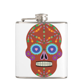 day of the dead Emar Design Flask
