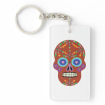 Day of the dead Emar Design Keychain