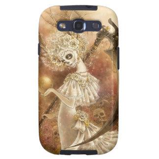 Day of the Dead Fantasy Samsung Galaxy S III Case Samsung Galaxy S3 Case